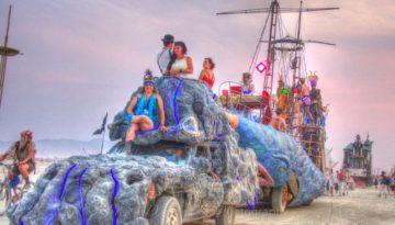 Burning Man Parade